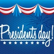 Stock Vector: Presidents day