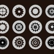 Stock Vector: Gears vector