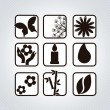 Stock Vector: Spa Icons
