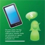 mobil försäljning ikoner — Stockvektor