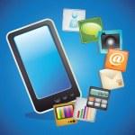 ícones de vendas móveis — Vetorial Stock