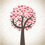 Love tree — Stock Vector #18994211