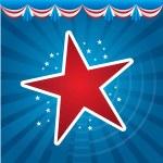 American stars — Stock Vector #18994669