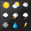 Weather - Image vectorielle