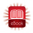 E book - Stock Vector