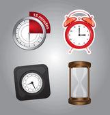 時間のアイコン — ストックベクタ
