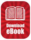 Ebook download — Stock Vector