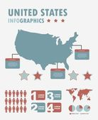 инфографика — Cтоковый вектор