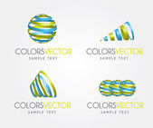 Colors vector — Stock Vector