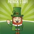 Stock Vector: Patricks day