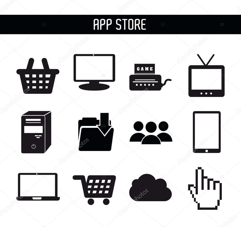 app store | 图库矢量图像08