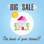House sale vector — Stock Vector #19530247