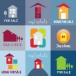 House sale vector — Vettoriale Stock