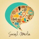 Social Media — Stock Vector #19538503