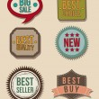 Vintage labels — Stock Vector #19642967