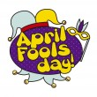 April fools day — Vector de stock