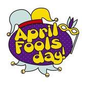 April fools day — Stockvector