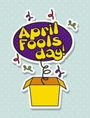 April fools day — Vetorial Stock