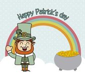 Patricks day — Vector de stock