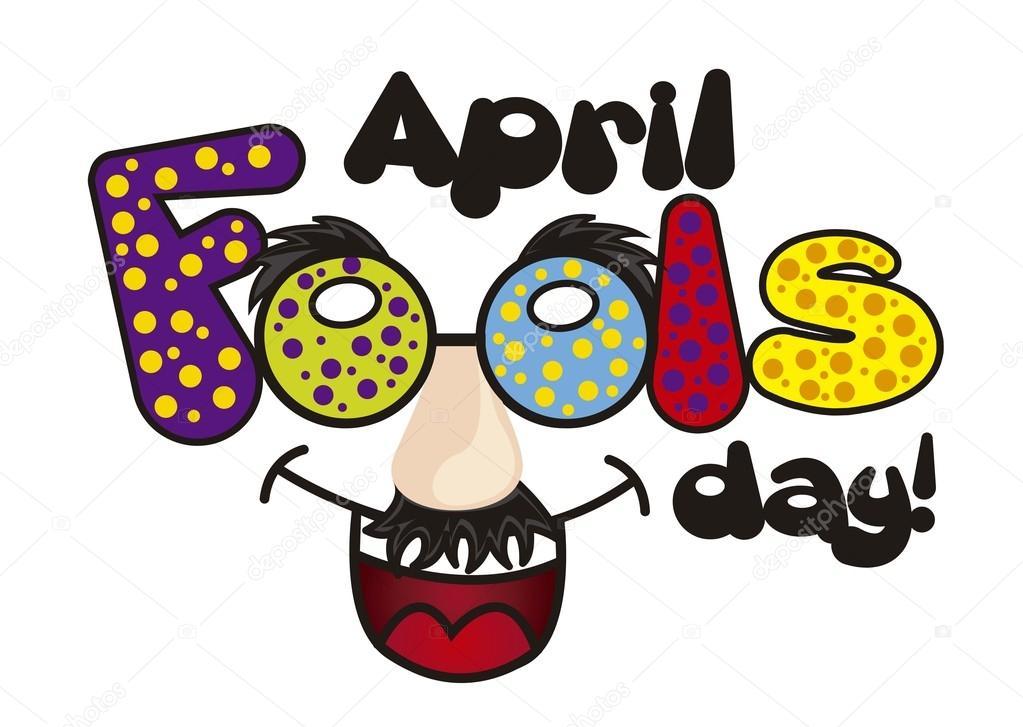 4 月食品天图小丑的帽子.矢量背景— 矢量图片作者 yupiramos