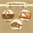 Bakery Icons - Stock Vector