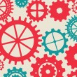 Gears colors — Vector de stock