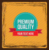 Seal Premium — Stock Vector