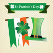 St patricks dag — Stockvektor