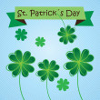 St Patricks Tag — Stockvektor
