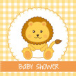 Stock Vector: Baby shower