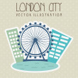 Stock Vector: London city