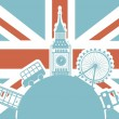 London vector — Stock Vector