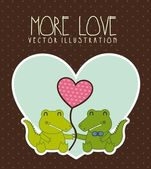 More love — Stock Vector