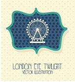 London city — Stock Vector