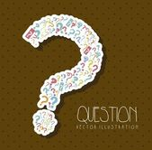Question icon — Stock Vector