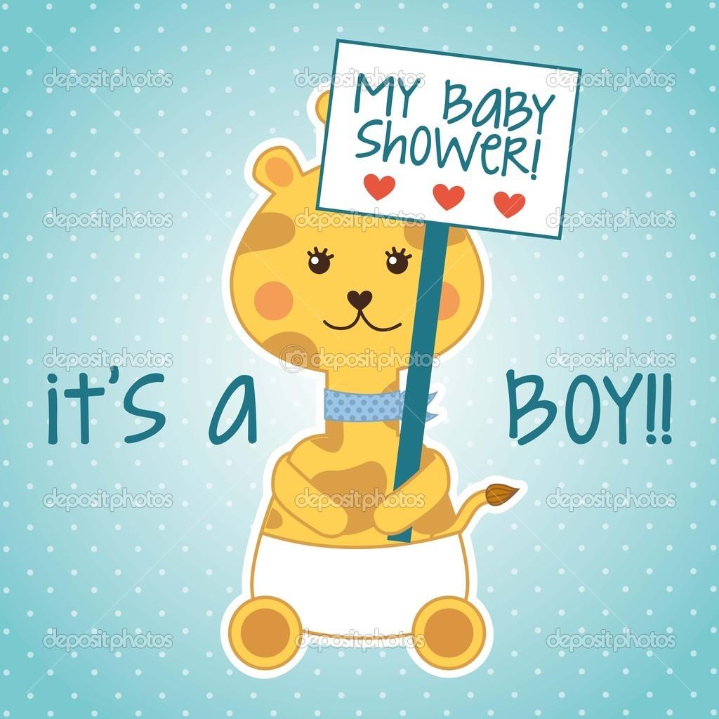 Download baby shower stock illustration 20100453