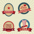 USA Icons — Stock Vector