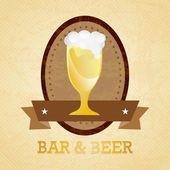 Beer Labels — Vector de stock