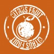 Stok Vektör: Citrus fruit