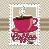 Kawa wektor — Wektor stockowy