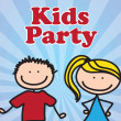 Kids party — Stock Vector #20947861