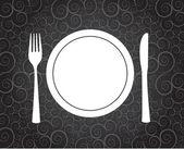 Dinner — Stock Vector