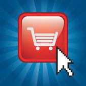 Koupit ikony — Stock vektor