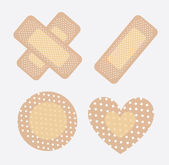 Bandages — Stock Vector