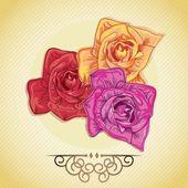 Flowers Icons — Vecteur