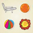 Summer, Sun Icons — Stock Vector #21632003