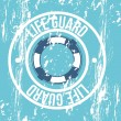 Vector de stock : Life guard