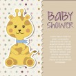 Baby shower — Stock Vector #21673839