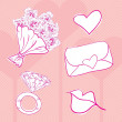 Love Icons - Image vectorielle