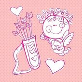 ícones de amor — Vetorial Stock